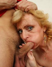 Nasty old granny slut is pounding man twice her age - part 4631