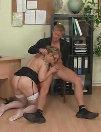 Highly scorching manager granny slut smallish - part 4664