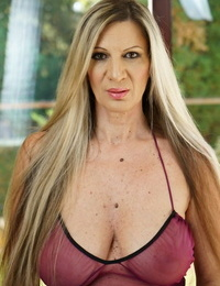 Mature chick with huge inborn breasts Conchita gets nailed deep and rock hard
