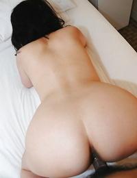 Asian Mummy Misuzu Masuko gives a blowjob and gets her S/M vagina shafted hard